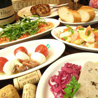 イル・バロッコ - 前菜いろいろ!ワインと一緒にどうぞ♪