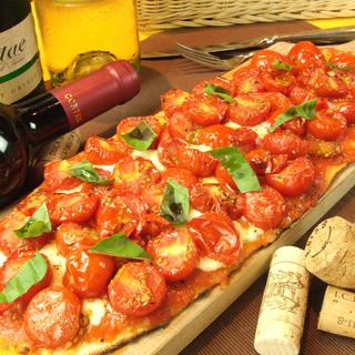 トマトがた~くさんPizza!