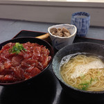 24776468 - マグロ丼定食(800円)