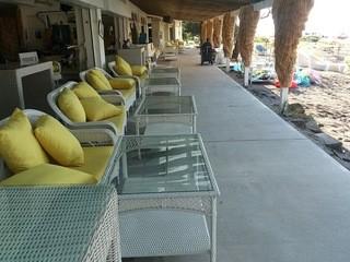 カメハメハ大王の渚 - 海が一望できるソファー席