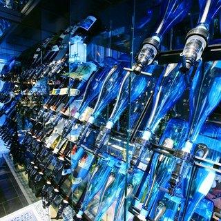 【焼酎】全国から集めた焼酎のラインナップは圧巻の180種類!