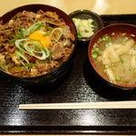 銀座 ほんじん - すき焼丼 390円