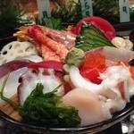 つかさ鮨 - ランチの海鮮丼は!!       ビビりバビデブw