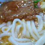 山の音 - 麺UP(鶏卵きつね)