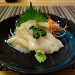 旬鮮宴味 桜田 - ホタテ刺身