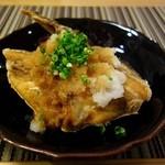 旬鮮宴味 桜田 - カマ唐ポン酢(勘八)