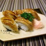 旬鮮宴味 桜田 - 穴子にぎり