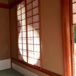 妙心寺山内 退蔵院 - 透かしの瓢箪が、なんかいい雰囲気でした♫