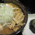 麺屋 熊野古道 - 古道ラーメン しょうゆ 全部乗せトッピング めはり寿司セット