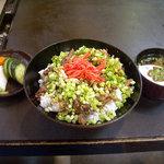 豊友 - 「牛スジ丼」840円