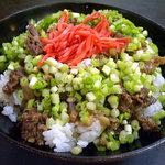 豊友 - 「牛スジ丼」