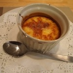 グリル小川 - 卵とハチミツの焼プリン