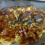 きゃべつ畑 - 牡蠣お好み焼き