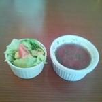 カフェ・ドゥ・トワ - サラダとスープ