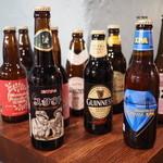 リズムバー - 各種クラフトビールは新鮮な瓶ビールで提供中です!