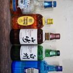リズムバー - ウィスキー、ワイン、日本酒、焼酎も取り揃えております。
