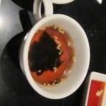 24784613 - セットのわかめスープ