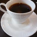 あんぷ~ - ホットコーヒー 多分サービス・・・