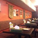 kanakoのスープカレー屋さん - 総席数30席と広い店内