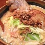 味噌屋 麺吉 - 料理写真:北海道野菜炙り一枚 *\(^o^)/*
