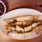 韓国食堂 カンスニ - チーズチヂミ