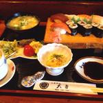 お食事処 大勇 - 料理写真:寿司定食¥1000