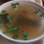 ルン ルアン - ・セットのスープ