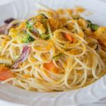 タンタローバ デル ミュゼオ 御殿場 - 【2014年3月訪問】有機野菜とカラスミのスパゲッティ