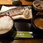 24788644 - 「炭火焼 焼き魚定食 (780円)」 魚の種類は日替わりとのことです