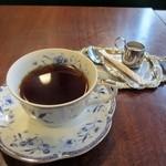キネマカフェ - 最後の飲み物はホットコーヒーをいただてゆっくりさせていただきました。