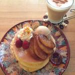 カフェ アリエッティ - 冬のパンケーキ(2014年2月)