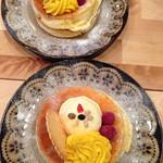カフェ アリエッティ - 秋のパンケーキ(2013年秋)かぼちゃ