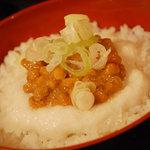 ねばり屋 - 【とろろ定食】(小)¥330