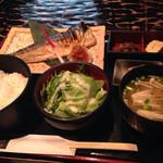 24790467 - 本日の焼き魚定食 サバ