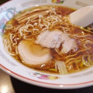 つづみそば - 料理写真:中華そば600円