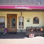 モンテリマール - 大通りから1本入った静かな通りにある小さなお店