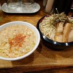IKR51with五拾壱製麺 - えび塩つけ麺