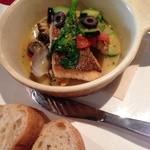 24793736 - ランチメニュー:鯛とアサリのアクアパッツァ。程よい塩味で美味!