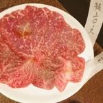 焼肉 一番星 - 2013.12月  国産黒毛和牛ロースとカルビ