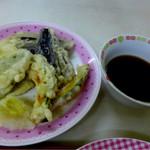 しん - 野菜天ぷら・250円