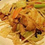 中国広東大衆酒家 蘭蘭 - 野菜炒め