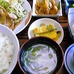 緑や食堂 - 本日の定食 安くて満腹です
