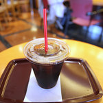 2480236 - アイスコーヒーS、280円。プラカップなのかぁ……。