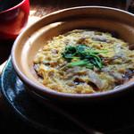 cafe-cafe - 選べるメイン(豚肉とごぼうの柳川風)