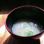 cafe-cafe - すり流し蓮根汁