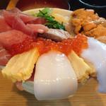 まぐろ亭 - まるき丼(1500円)