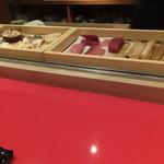 鮨処 美な味 - ネタ箱