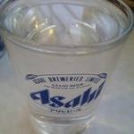 三笠食堂 - コップ酒は常温で