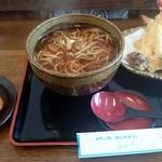 四季の味処 ふみ佶 - 天ぷら蕎麦(冷)
