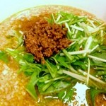 ささのは - 坦々麺(≧∇≦)、2012年4月28日。